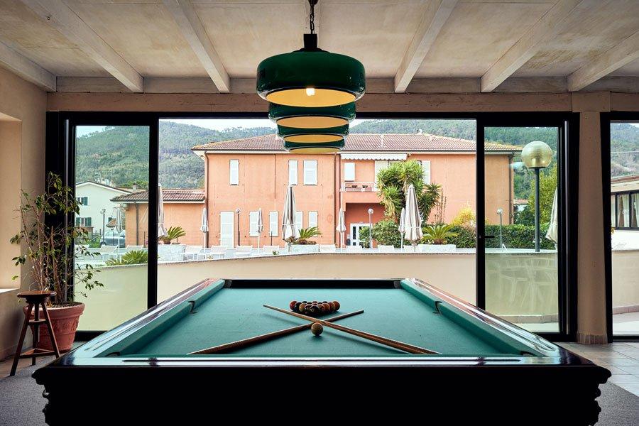 River park hotel business ameglia la spezia biliardo